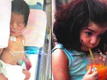 Nggak terasa, bocah bernama Ayana ini udah berumur 2 tahun. (Foto: Instagram/ @dianamouamar)