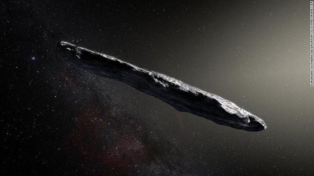 Asteroid Imigran Menyusup Tata Surya Selama 4,5 Miliar Tahun