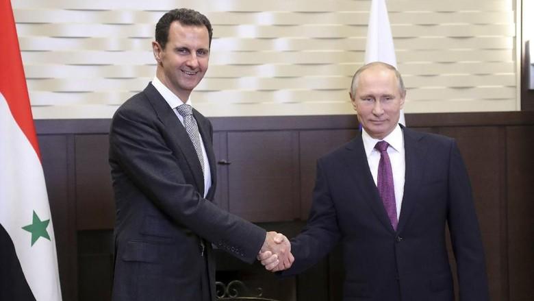 Assad Kunjungi Rusia dan Temui Putin, Apa yang Dibahas?