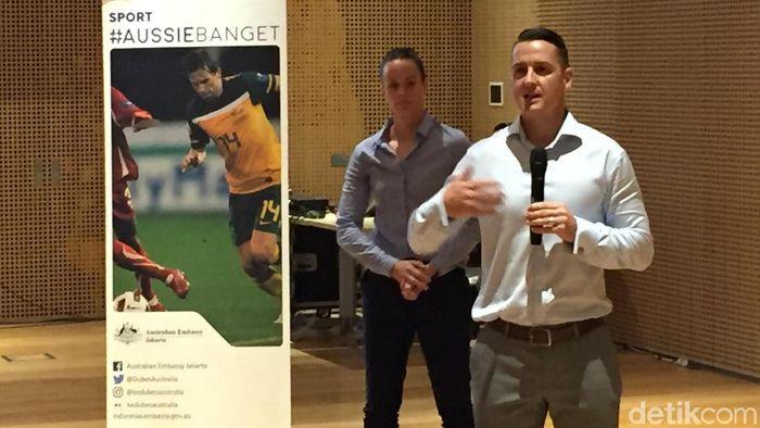 Head of Sport and Exercise Science, Fakultas Kesehatan, Universitas Canberra, Nick Ball (Femi Diah/detikSport)