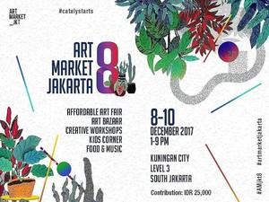 Puluhan Seniman Ramaikan <i>Affordable Art Fair</i> di Art Market Jakarta