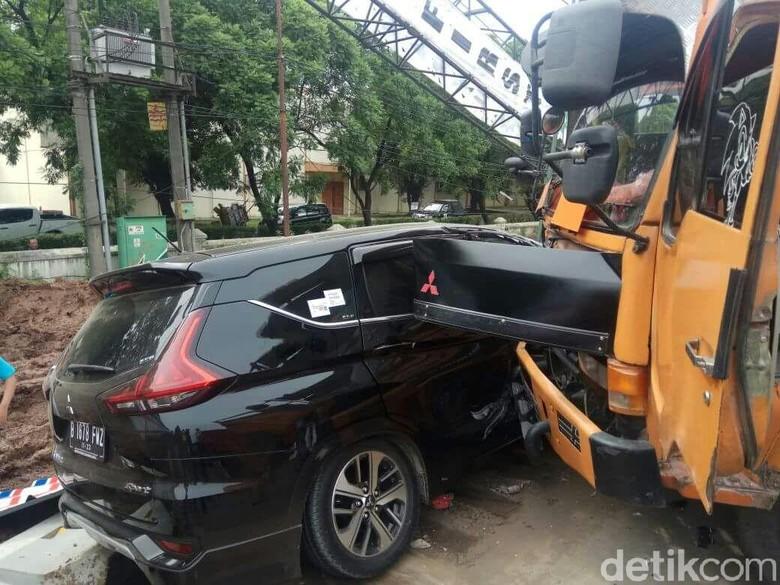 Mitsubishi jamin ketersediaan spare part Xpander jika kecelakaan. Foto: Istimewa