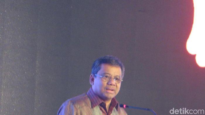 Kepala BKF Suahasil Nazara di acara DBS
