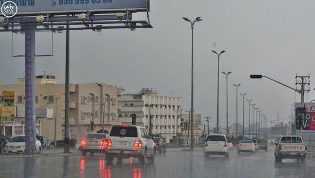 Cuaca Buruk, Sekolah-sekolah di Makkah dan Jeddah Diliburkan