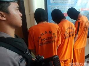 Polisi Tangkap Kelompok Bertopeng Pembacok Pemuda Sukabumi