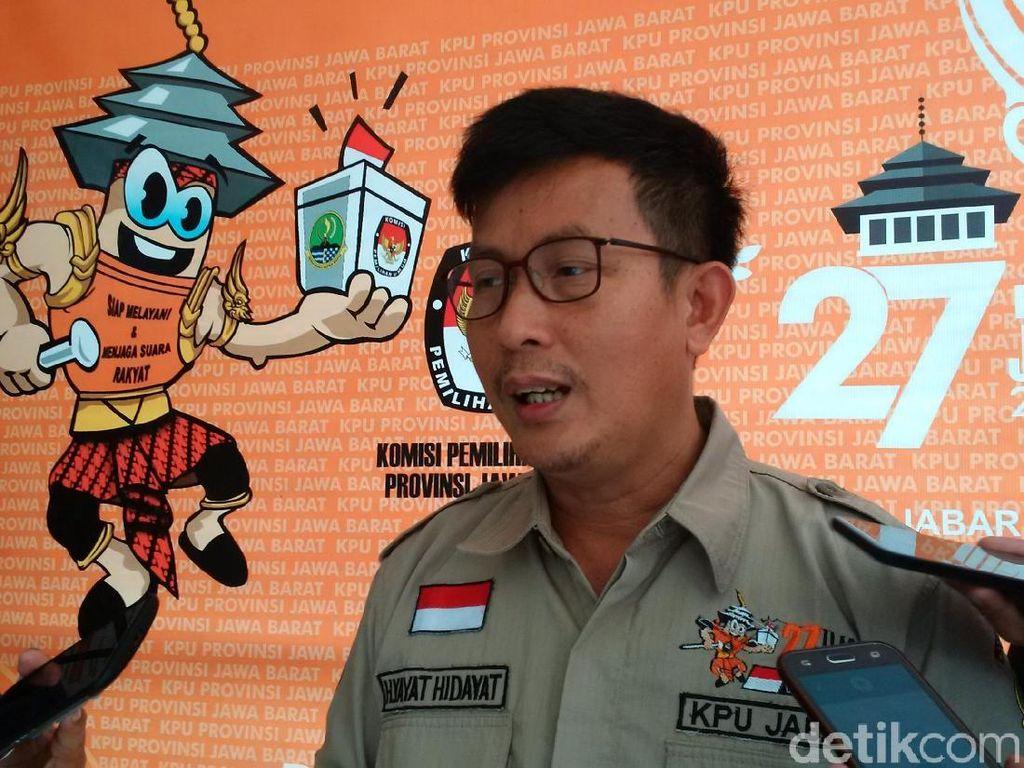 KPU Jabar Larang Pemilih Bawa Smartphone saat Pencoblosan