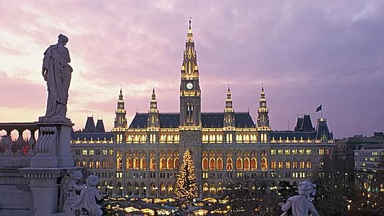 Pasar natal di Austria (austria info)