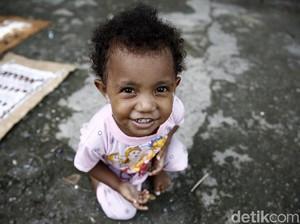 Keceriaan Anak-anak Desa Asai di Papua