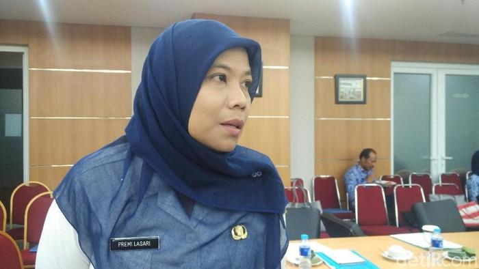 Kepala Biro Tata Pemerintahan DKI Jakarta Premi Lasari (Fida-detikcom)