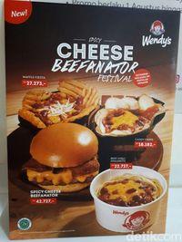 Yang Baru dari Wendy's, Burger dan <i>Waffle French Fries</i> Berlumur Saus Keju