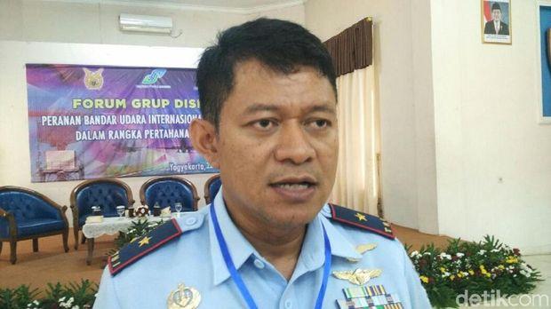 Danlanud Adisutjipto Marsma TNI Novyan Samyoga