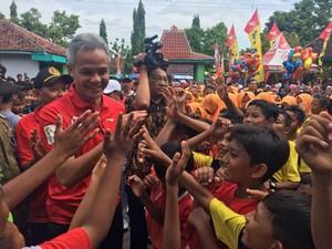 Dukungan dari Warga Jateng untuk Kesuksesan Asian Games 2018
