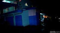 Rumah pengusaha di Garut yang disatroni kawanan perampok.