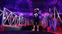 Sederet hits dibawakan oleh GIGI di Jakarta Convention Center, Senayan, Jakarta Pusat, Selasa (21/11/2017) malam. Foto: Ismail