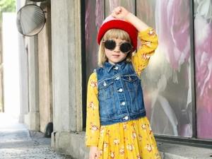 Umur Baru 5 Tahun, Penampilan Bocah Ini Stylish Abis