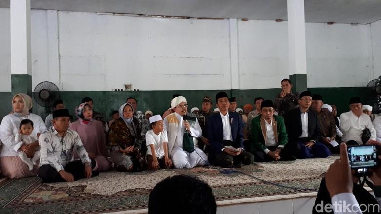 Ke Ponpes Bareng Gubernur NTB, Jokowi Didoakan Menang Pilpres 2019
