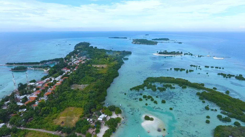 Pulau Pari di Kepulauan Seribu