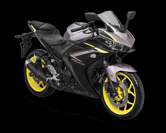 Yamaha R25 Lebih Segar dengan 3 Warna Baru