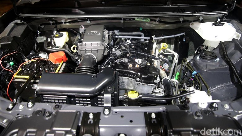 Mesin Toyota Rush (Foto: Agung Pambudhy)