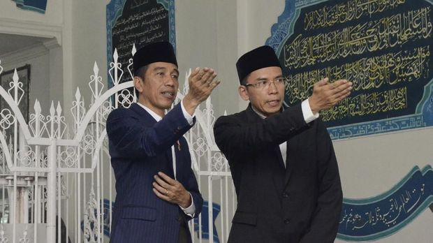 Politik Identitas TGB Masuk Bursa Cawapres Jokowi