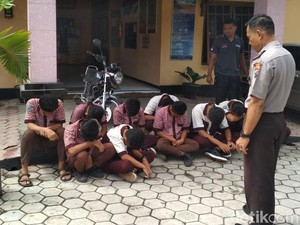 10 Pelajar SMA di Jember Tertangkap Sedang Pesta Miras
