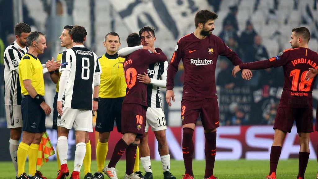 5 Data-Fakta Jelang Juventus Vs Barcelona