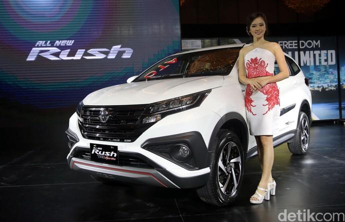 Foto: Toyota Luncurkan Rush Tanpa Konde