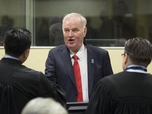 Didakwa PBB Sejak 1995, Mladic Sempat Buron dan Ditangkap 2011