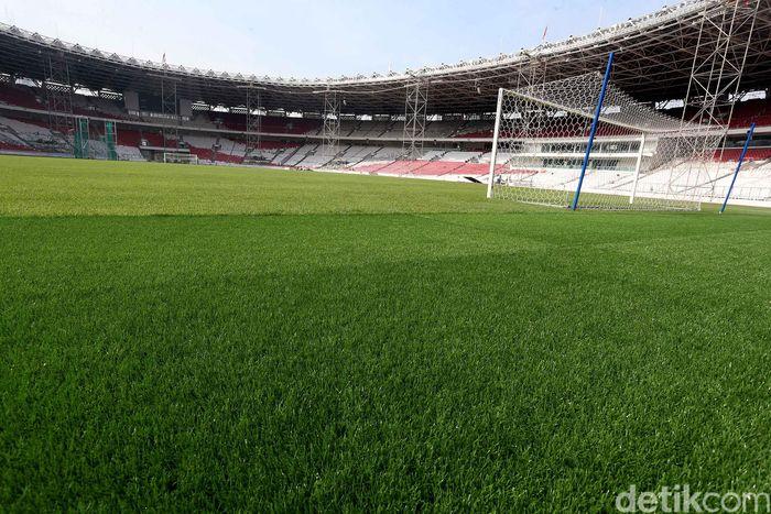 Kendati tak menjadi venue sepakbola, SUGBK direnovasi besar-besaran untuk menggelar acara pembukaan dan penutupan Asian Games 2018.