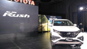 Toyota Umumkan Harga Rush Bulan Januari