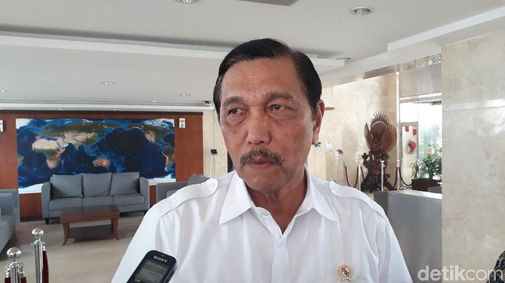 Bicara Arus Mudik, Luhut: Ini Cerita Hasil Kerja Pak Jokowi 3 Tahun