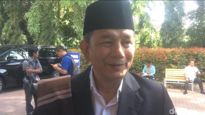 Foto ilustrasi: Doli Sinomba Siregar, paman Bobby Nasution menantu Jokowi. (Gusti/detikcom)