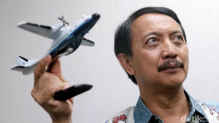 Direktur Utama PT Dirgantara Indonesia Elfien Goentoro