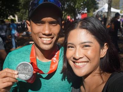 Selain Romantis, Pasangan Selebritis Ini Kompak Olahraga Bersama