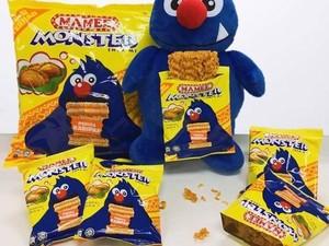 Wah, di Malaysia Kini Ada Mamee Monster Rasa Curry Puff!