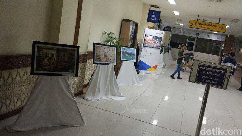 Ketika Bandara Banda Aceh Jadi Tempat Pameran Foto