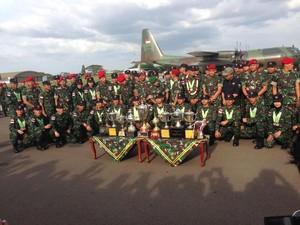 Cerita Kontingen TNI AD yang Pecahkan Rekor di Lomba Tembak AARM 2017