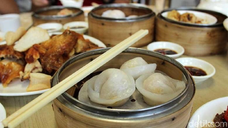 Kuliner dimsum halal di Hong Kong (Randy/detikTravel)