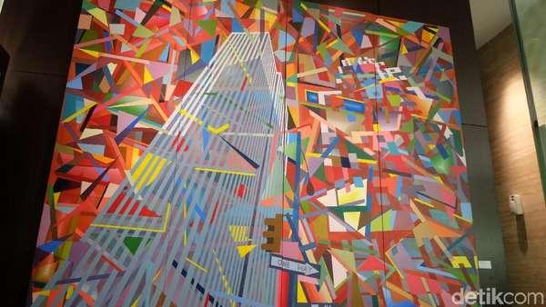 Intip Karya Pulau Run dan Manhattan dari Kacamata Made Wianta
