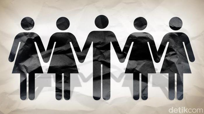 Ilustrasi poligami (Foto: Tim Infografis/ Andhika Akbarayansyah)