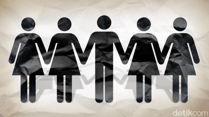 Ilustrasi poligami. Foto: Tim Infografis/ Andhika Akbarayansyah