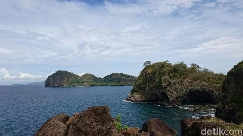 Pulau Sangiang (M Iqbal/detikcom)