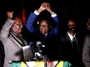 Akhiri Drama Politik Zimbabwe, Mnangagwa Si Buaya Gantikan Mugabe