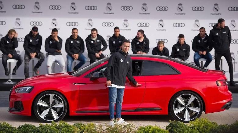 Pemain Real Madrid dapat mobil baru. Foto: motor1