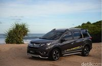 Honda BR-V Jelajah Pesisir Pantai Selatan Yogyakarta (Foto: PT Honda Prospect Motor)