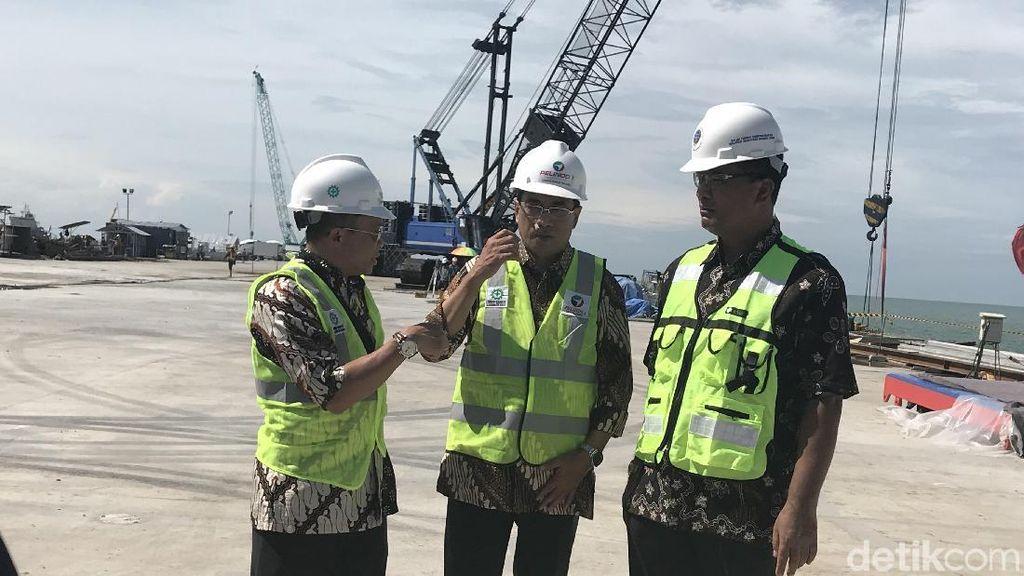 Pelabuhan Kuala Tanjung Layani Ekspor 600 Kontainer/Minggu