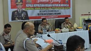 Arahan Kapolri untuk Pengamanan Nikahan Kahiyang-Bobby di Medan