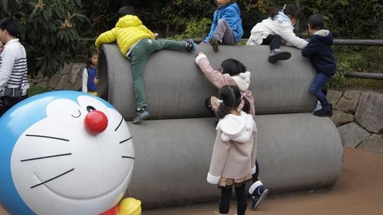 Doraemon di Museum Fujiko F Fujio (Aisyah Kamaliah/detikTravel)