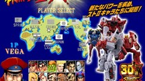 Kala Ryu, Ken, Chun-li, dan Bison Jadi Robot Transformers