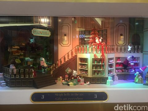 Sambut Natal, Mal Taman Anggrek Hadirkan Hotel Christmas